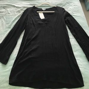Tobi black long sleeved dress